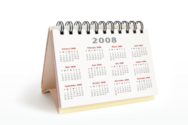 Calendar used for Appointment Making and Diary Management by our Virtual Receptionists